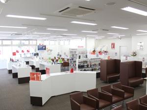 ドコモショップ桜井店・店内